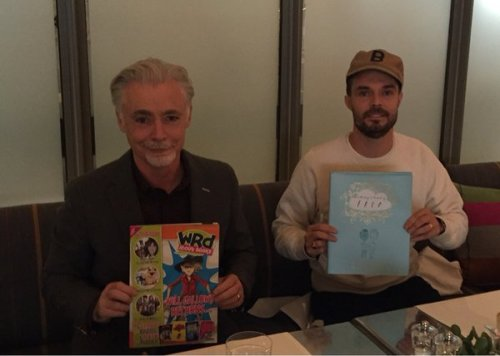 Eion Colfer and Oliver Jeffers