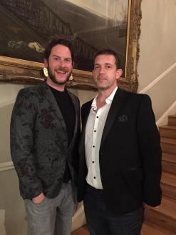 Steven Lenton and Chris Mould